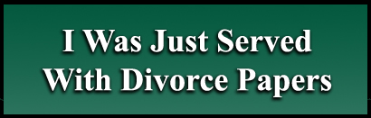 Your spouse just served you with divorce papers and you need help